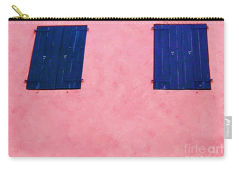 Shutters Carry-all Pouch featuring the photograph Pretty In Pink by Debbi Granruth