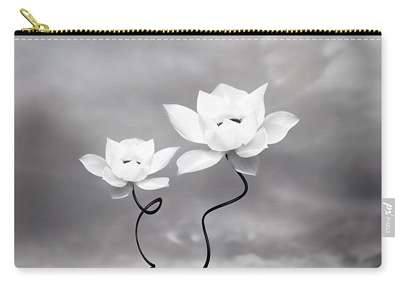 Surreal Carry-all Pouch featuring the photograph Prevail by Jacky Gerritsen