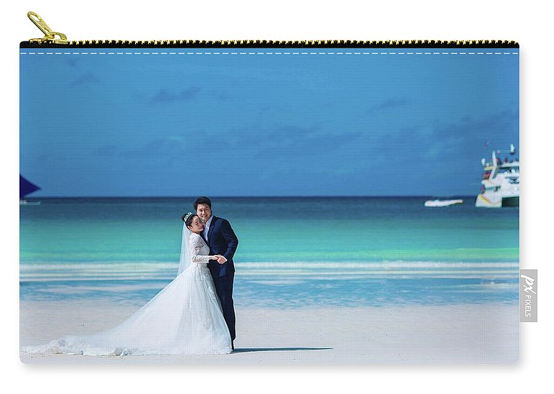Prewedding Carry-all Pouch featuring the painting Prewedding by Vincent Lau