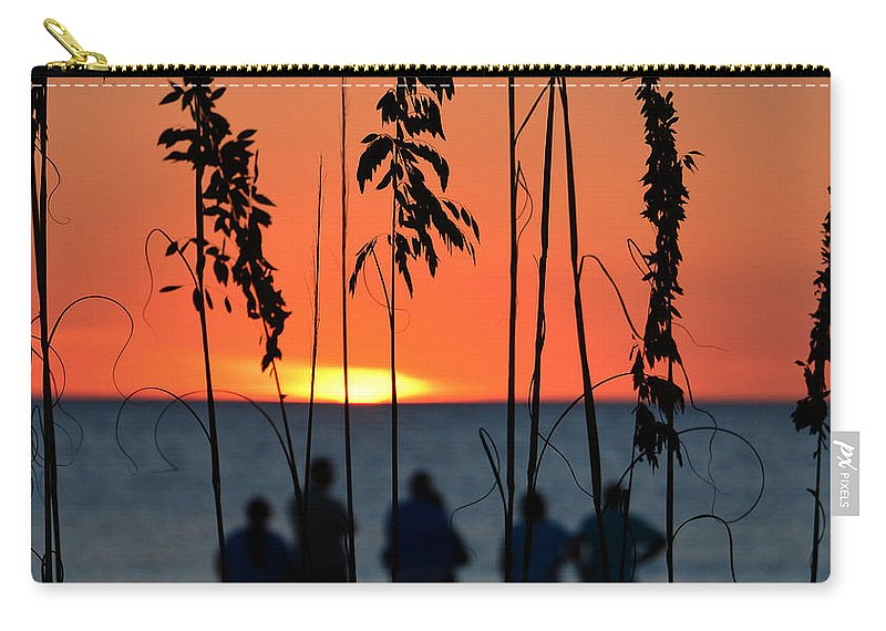Good Friends Carry-all Pouch featuring the photograph Priceless by David Lee Thompson