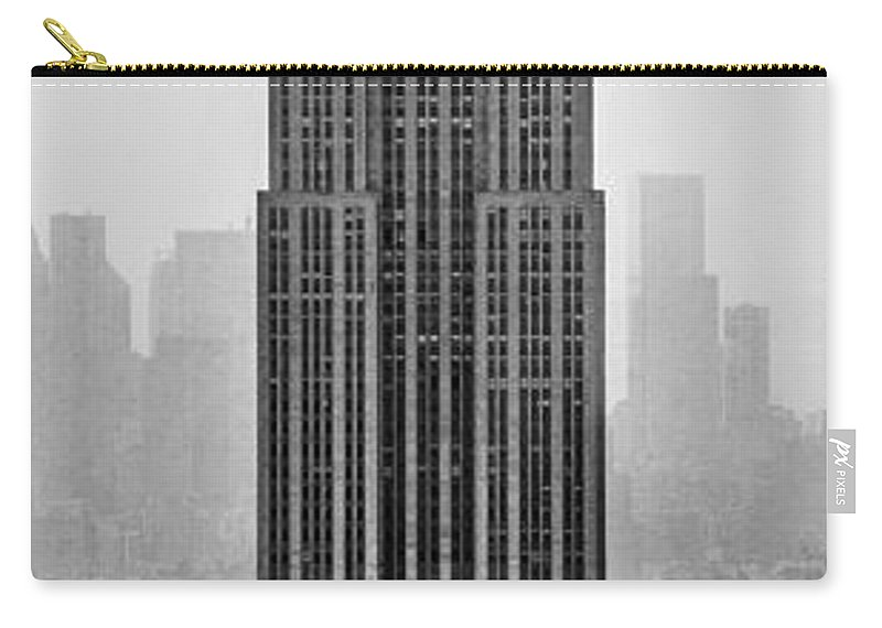 Empire State Building Carry-all Pouch featuring the photograph Pride Of An Empire by Az Jackson