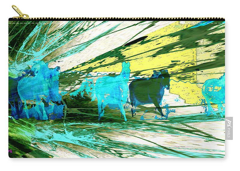 Pride Of Pegasus Carry-all Pouch featuring the photograph Pride Of Pegasus by Seth Weaver