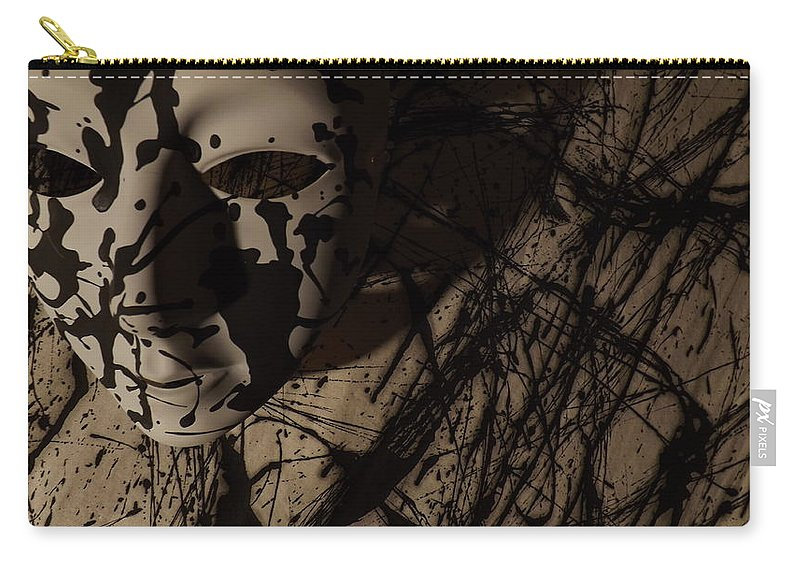 Color Photography Carry-all Pouch featuring the photograph Primal Mind by Kirk Griffith