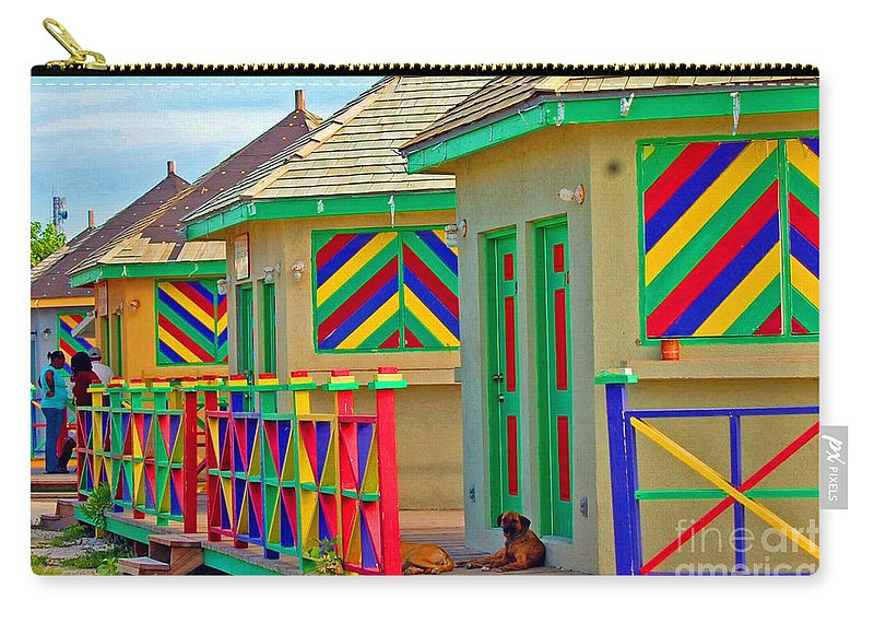 Vivid Carry-all Pouch featuring the photograph Primary Colors by Debbi Granruth