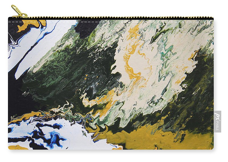 Fusionart Carry-all Pouch featuring the painting Primeval by Ralph White