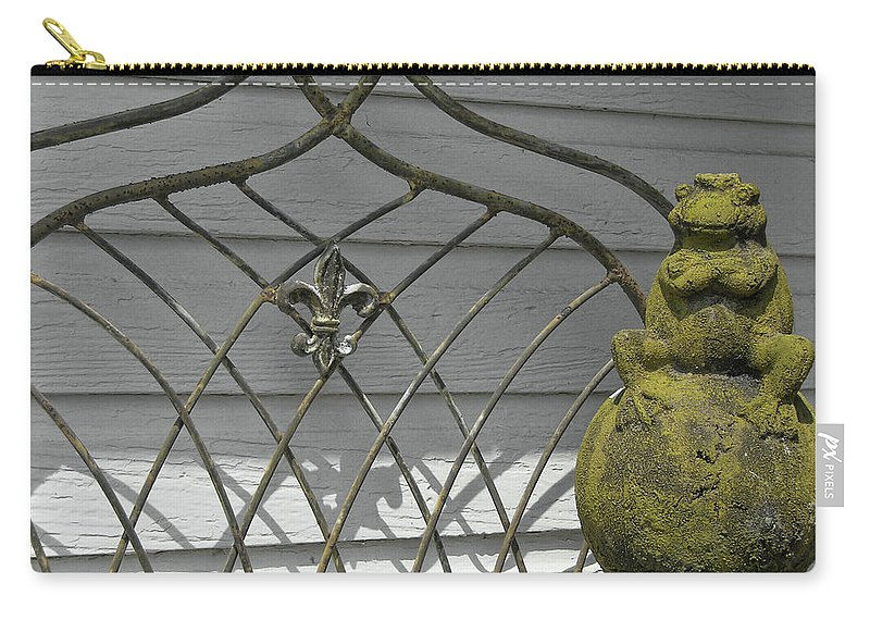 Frog Carry-all Pouch featuring the photograph Prince Charming by JAMART Photography