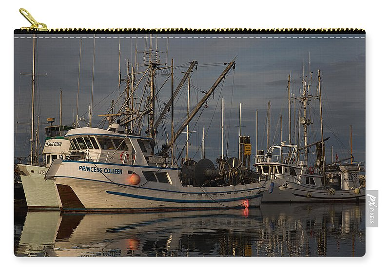 Seiner Carry-all Pouch featuring the photograph Princess by Randy Hall