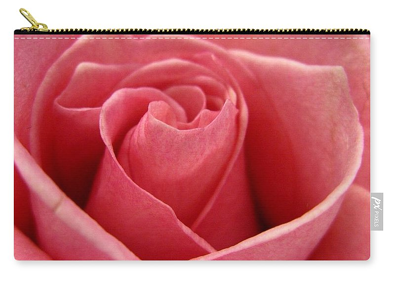 Rose Carry-all Pouch featuring the photograph Princess Rose by Rhonda Barrett