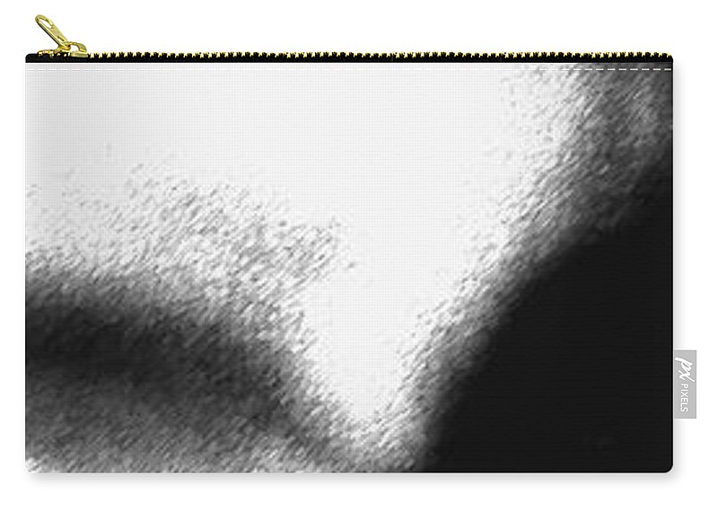 Abstract Carry-all Pouch featuring the photograph Profiles by Amanda Barcon