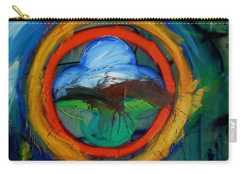 Landscape Carry-all Pouch featuring the painting Promised Land by Charles Stuart