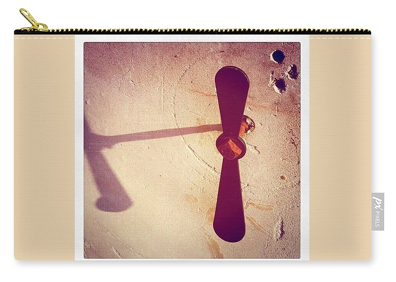 What Carry-all Pouch featuring the photograph Propeller by Kendall Tabor