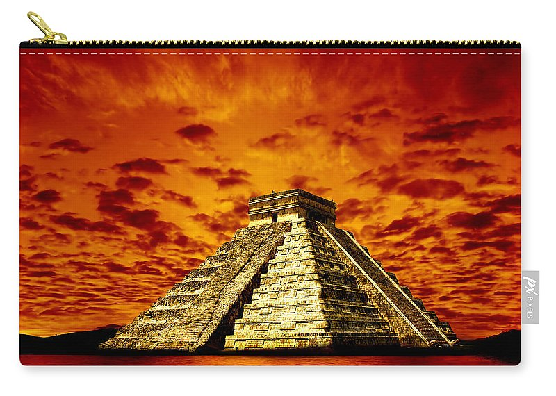 Photodream Carry-all Pouch featuring the photograph Prophecy by Jacky Gerritsen