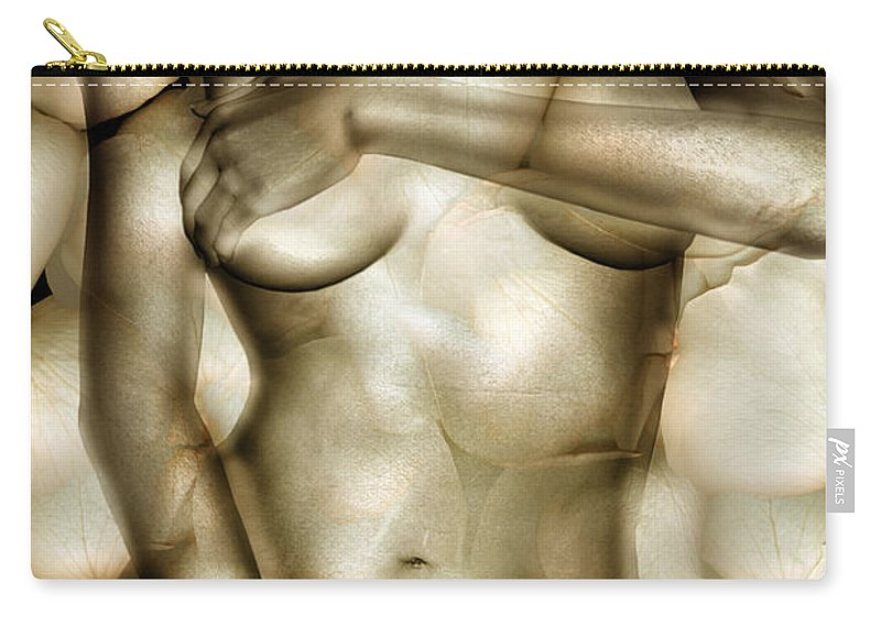 Woman Carry-all Pouch featuring the photograph Protected by Jacky Gerritsen