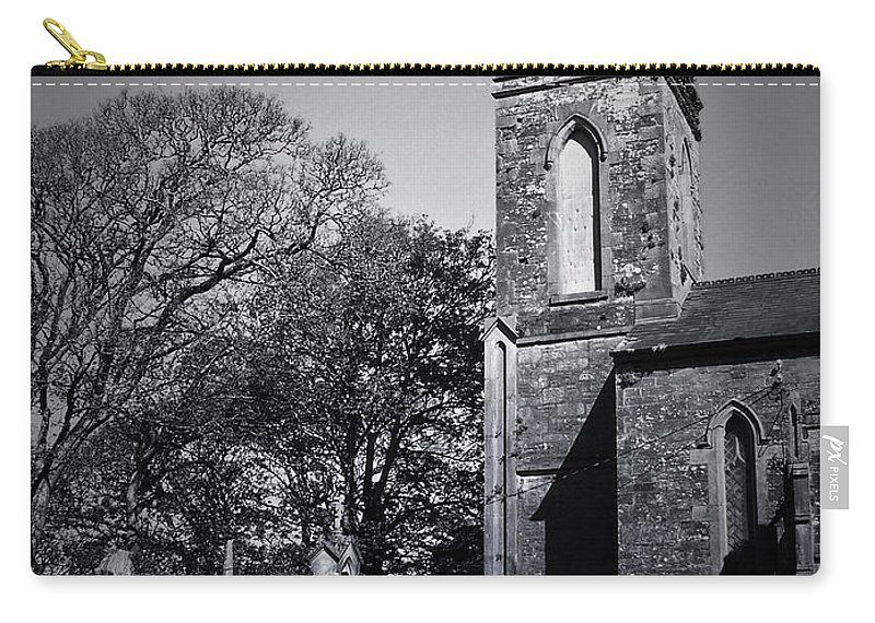 Irish Carry-all Pouch featuring the photograph Protestant Church Macroom Ireland by Teresa Mucha