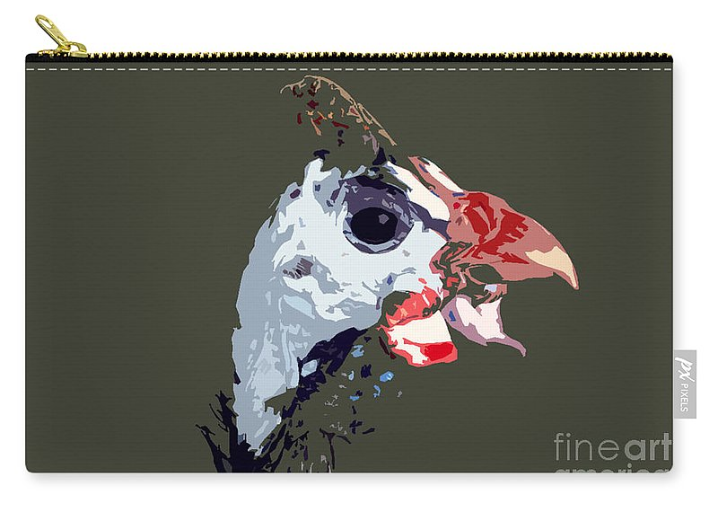 Bird Carry-all Pouch featuring the photograph Proud Bird by David Lee Thompson
