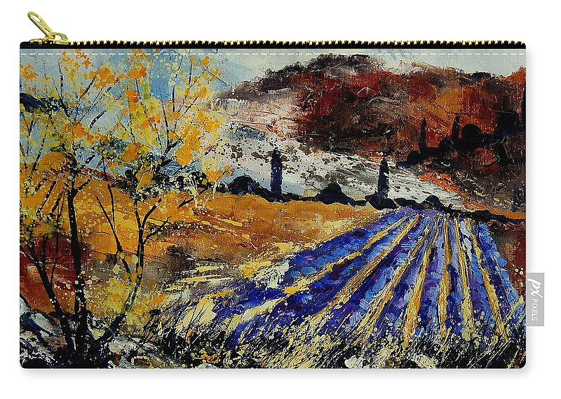 Provence Carry-all Pouch featuring the painting Provence 564578 by Pol Ledent