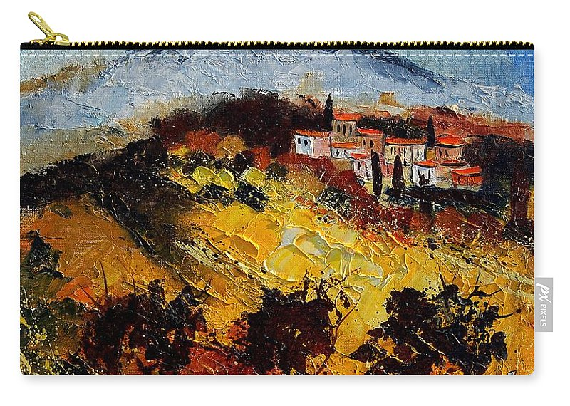 Provence Carry-all Pouch featuring the painting Provence 5678952 by Pol Ledent