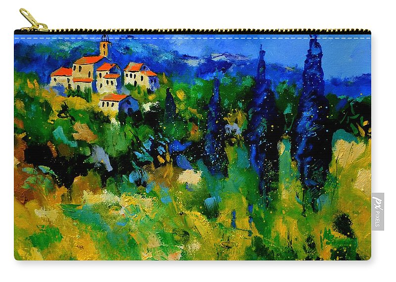 Landscape Carry-all Pouch featuring the painting Provence 768110 by Pol Ledent