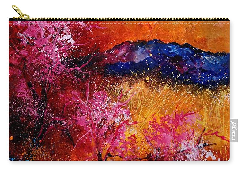 Provence Carry-all Pouch featuring the painting Provence560908 by Pol Ledent
