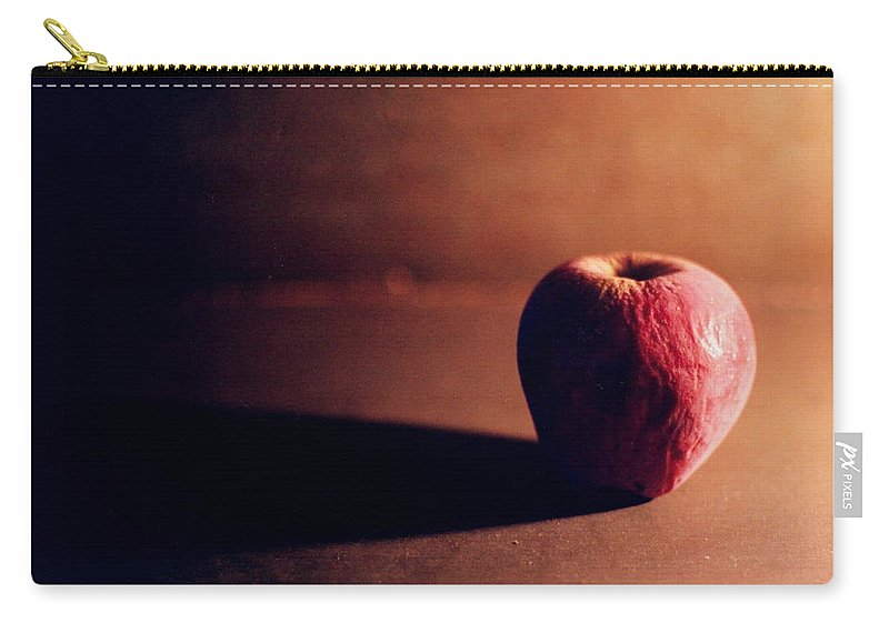 Shriveled Carry-all Pouch featuring the photograph Pruned Apple Still Life by Michelle Calkins