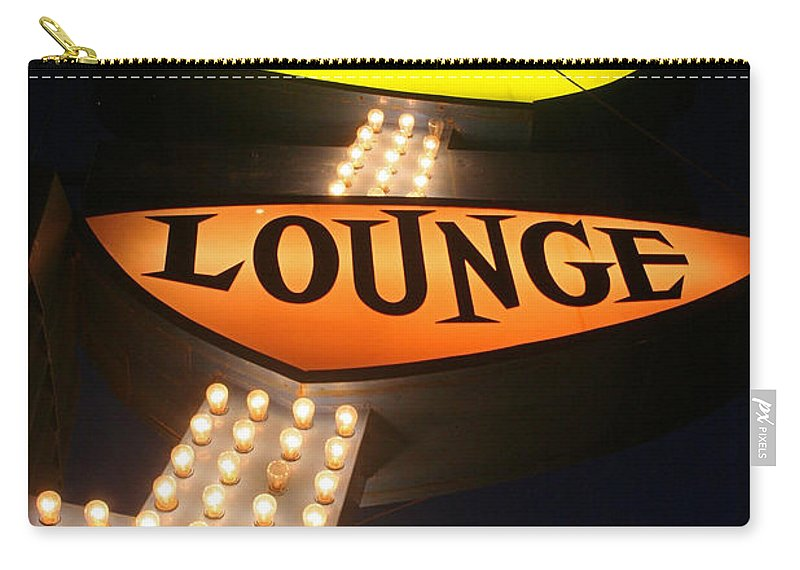 Ps Lounge Carry-all Pouch featuring the photograph Ps Lounge by Jeffery Ball