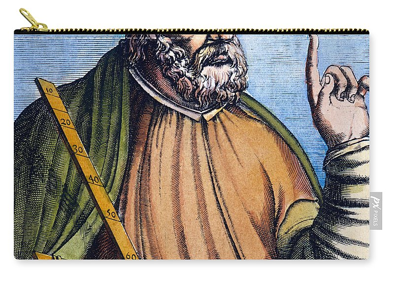 2nd Century Carry-all Pouch featuring the photograph Ptolemy (2nd Century A.d.) by Granger