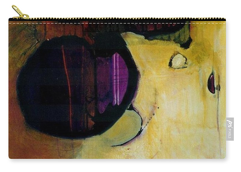 Abstract Carry-all Pouch featuring the painting Published by Marlene Burns