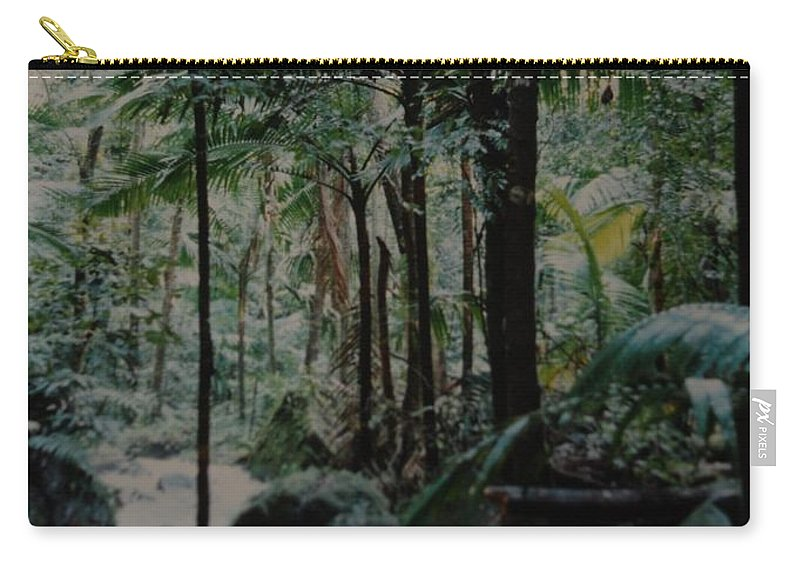 Trees Carry-all Pouch featuring the photograph Puerto Rico by Rob Hans