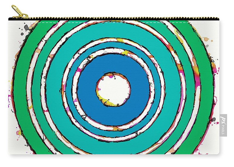 Pulse Carry-all Pouch featuring the digital art Pulse by Keith Mills