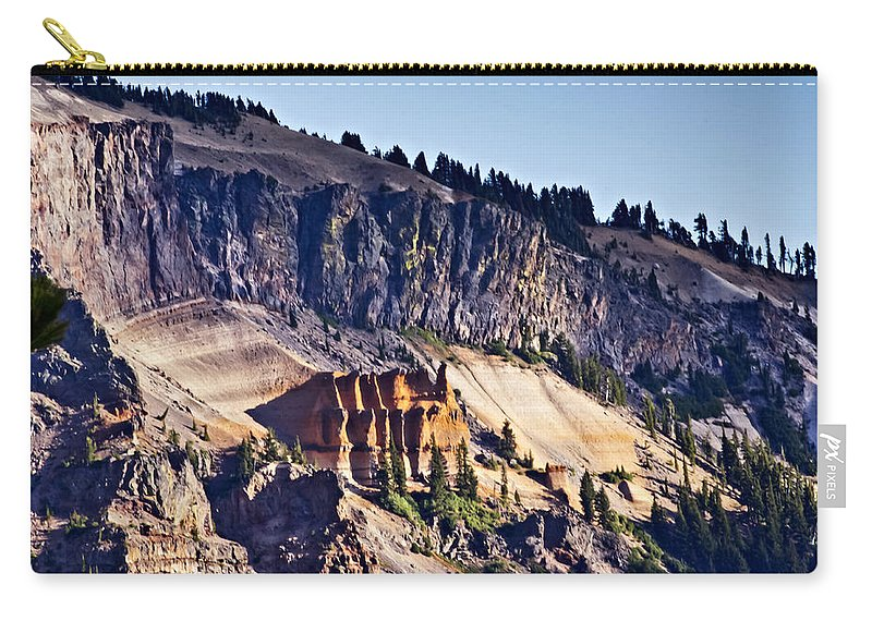 Pumice Castle Carry-all Pouch featuring the photograph Pumice Castle by Albert Seger