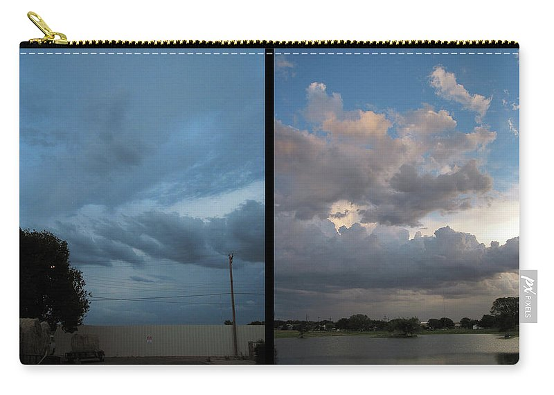 Purgatory Carry-all Pouch featuring the photograph Purgatory by James W Johnson