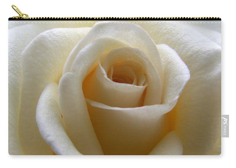 Rose Carry-all Pouch featuring the photograph Purity by Amy Fose