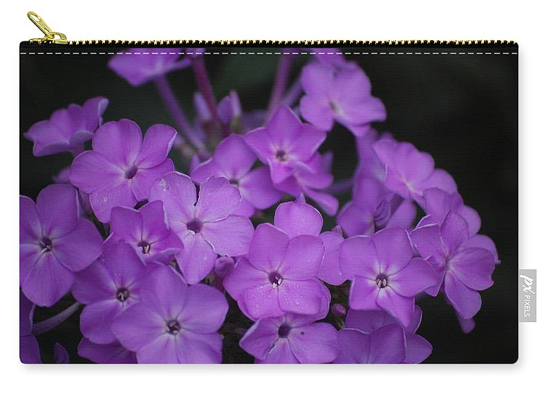 Digital Photo Carry-all Pouch featuring the photograph Purple Blossoms by David Lane