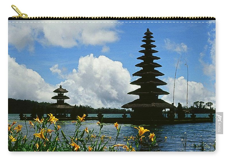 Asia Carry-all Pouch featuring the photograph Puru Ulun Danau by Juergen Weiss