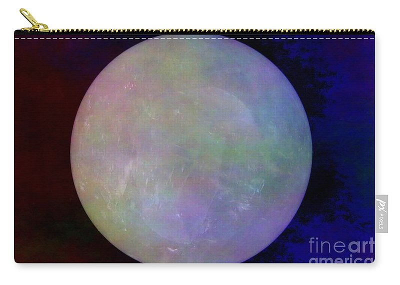 Crystal Ball Carry-all Pouch featuring the photograph Quartz Crystal Ball by Mary Deal