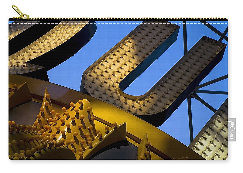 Architecture Carry-all Pouch featuring the photograph Queen Of Hearts by Skip Hunt