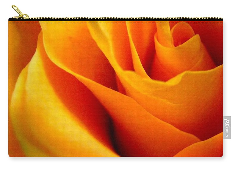 Rose Carry-all Pouch featuring the photograph Queen Rose by Rhonda Barrett