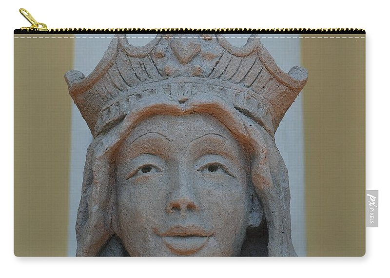 Sand Carry-all Pouch featuring the photograph Queen Sandy by Rob Hans