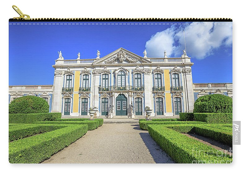 Sintra Carry-all Pouch featuring the photograph Queluz National Palace by Benny Marty