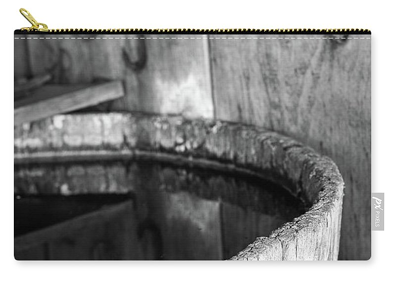 Branding Carry-all Pouch featuring the photograph Quench The Fire by Martina Schneeberg-Chrisien