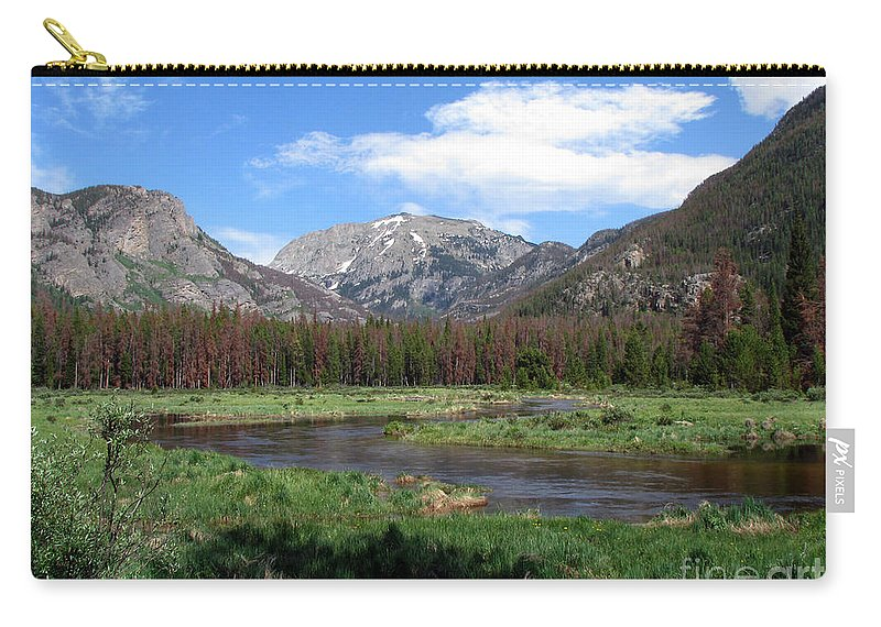 Nature Carry-all Pouch featuring the photograph Quiet by Amanda Barcon