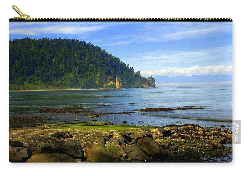 Olympic Carry-all Pouch featuring the photograph Quiet Bay by Marty Koch