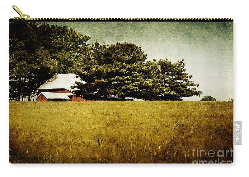 Barn Carry-all Pouch featuring the photograph Quiet by Lois Bryan