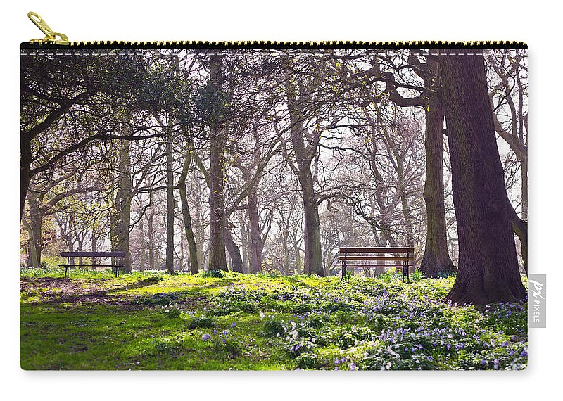Wood Carry-all Pouch featuring the photograph Quiet Moment by Alex Art and Photo