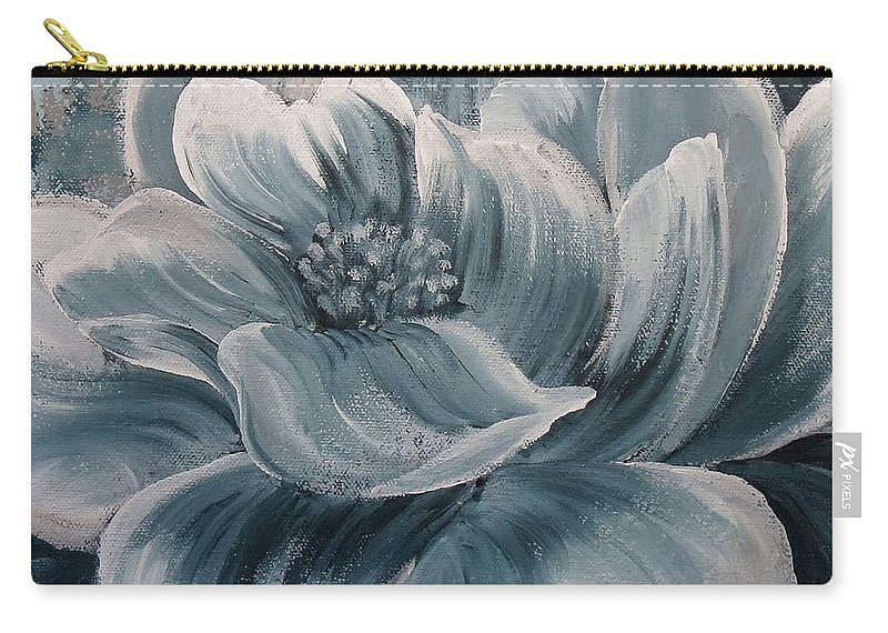 Carry-all Pouch featuring the painting Quietude by Amy Chenoweth