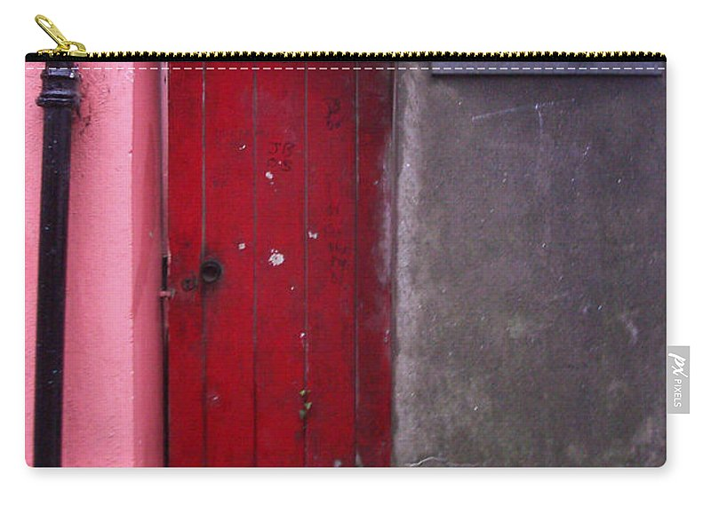 Red Carry-all Pouch featuring the photograph R. O. Keeffee And Sons by Tim Nyberg