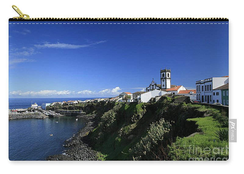 Azores Carry-all Pouch featuring the photograph Rabo De Peixe by Gaspar Avila