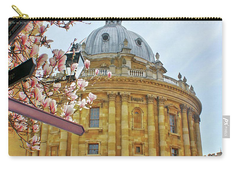 Radcliffe Camera Carry-all Pouch featuring the photograph Radcliffe Camera Bodleian Library Oxford by Terri Waters