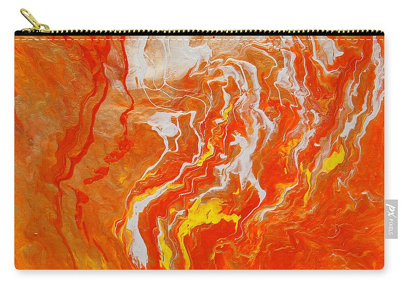 Fusionart Carry-all Pouch featuring the painting Radiance by Ralph White