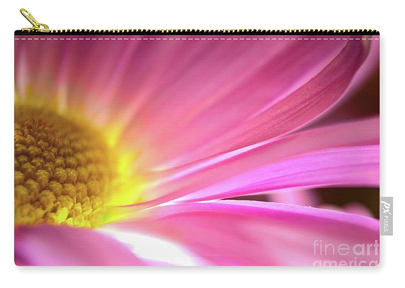 Flower Carry-all Pouch featuring the photograph Radiant Glory by Chad and Stacey Hall